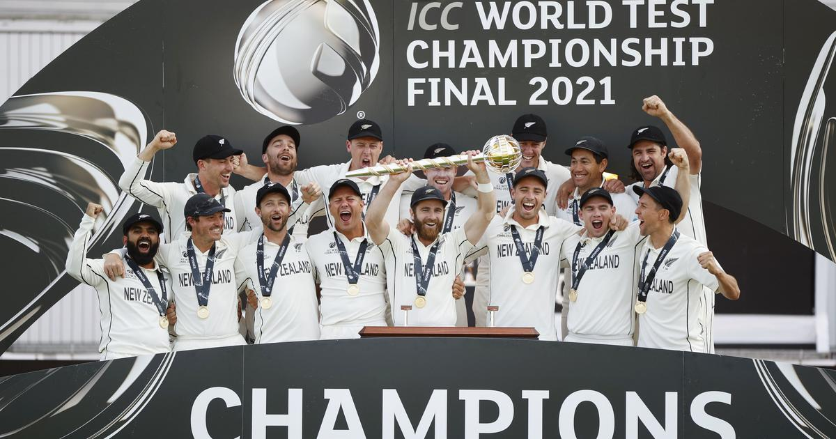 Cricket : पहले वर्ल्ड टेस्ट चैंपियनशिप का विजेता बना न्यूजीलैंड