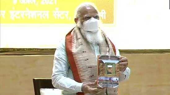 PM Modi releases Hindi version of book 'Odisha Itihaas'